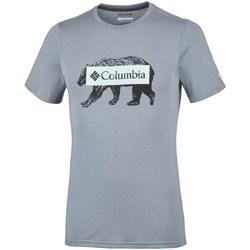 Oblečenie Muži Tričká s krátkym rukávom Columbia Box Logo Bear Sivá