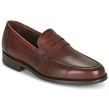 Topánky Muži Mokasíny Barker JEVINGTON Bordová