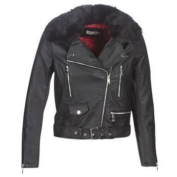 Oblečenie Ženy Kožené bundy a syntetické bundy Molly Bracken HA006A21 Čierna