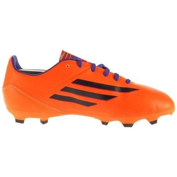 Topánky Deti Futbalové kopačky adidas Originals F10 Trx FG J Čierna,Oranžová