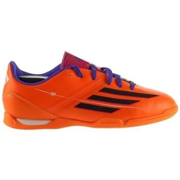Topánky Deti Futbalové kopačky adidas Originals F10 IN J Oranžová, Fialová