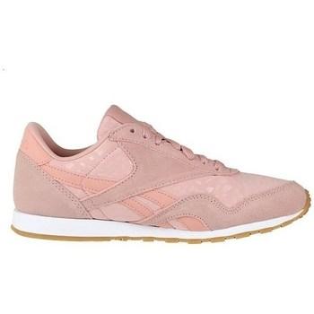 Topánky Ženy Nízke tenisky Reebok Sport CL Nylon Slim Txt L Ružová