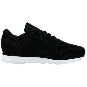 Topánky Ženy Nízke tenisky Reebok Sport Classic Leather Woven Emb Biela,Čierna