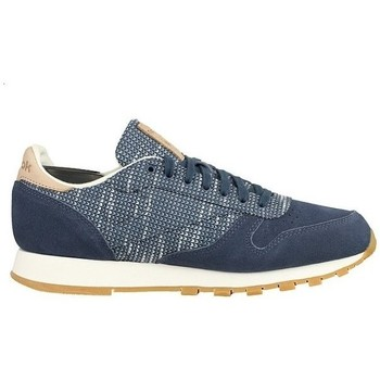Topánky Muži Nízke tenisky Reebok Sport Classic Leather Modrá
