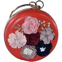 Tašky Ženy Spoločenské kabelky John-C Dámska červená kabelka FLORENCE červená