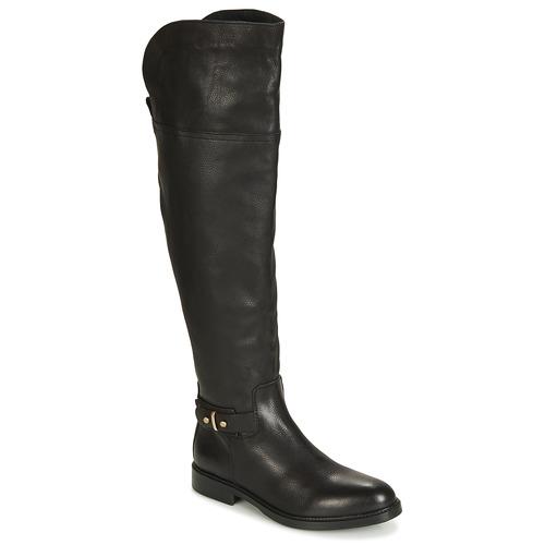930eb2e5c5 Topánky Ženy Čižmy do mesta Tommy Hilfiger HOLLY 6A Čierna