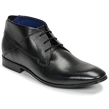 Topánky Muži Polokozačky Bugatti ELVIS Čierna