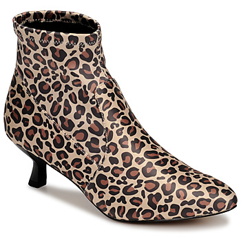 Topánky Ženy Čižmičky Katy Perry THE BRIDGETTE Leopard