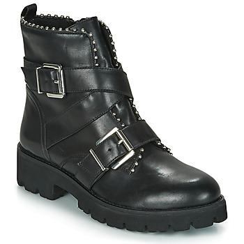 Topánky Ženy Polokozačky Steve Madden HOOFY Čierna