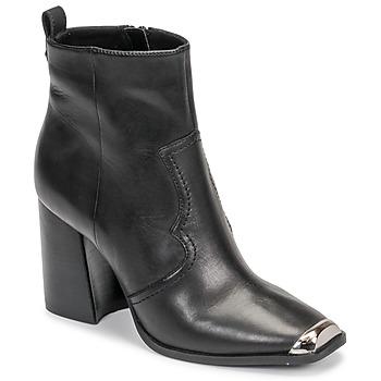 Topánky Ženy Čižmičky Steve Madden ENZO Čierna