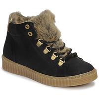 Topánky Dievčatá Členkové tenisky Bullboxer AIB504E6CA-BLCK Čierna