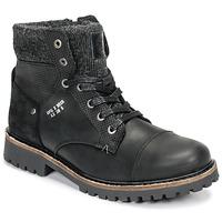 Topánky Chlapci Polokozačky Bullboxer AHA518E6L-BLCK Čierna
