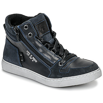 Topánky Chlapci Členkové tenisky Bullboxer AGM531E6L-NGBLK Námornícka modrá