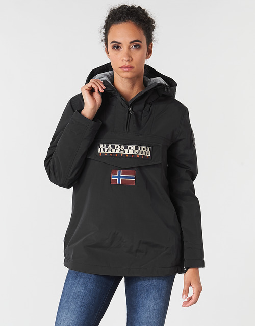 Oblečenie Ženy Parky Napapijri RAINFOREST WINTER Čierna