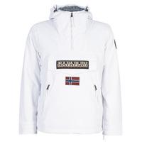 Oblečenie Muži Parky Napapijri RAINFOREST POCKET Biela
