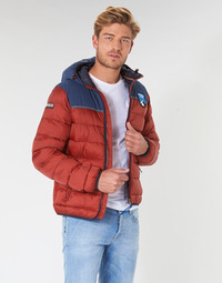 Oblečenie Muži Vyteplené bundy Napapijri ARIC Červená