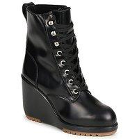 Topánky Ženy Čižmičky Marc Jacobs MJ19142 Čierna