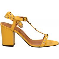 Topánky Ženy Sandále Via Roma 15 SANDALO CINTURINI PIRAMIDI giallo