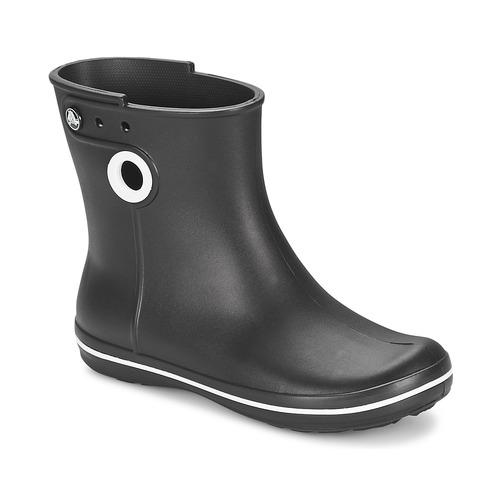 34db2d7df9 Topánky Ženy Čižmy do dažďa Crocs JAUNT SHORTY BOOT W-BLACK Čierna