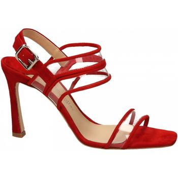 Topánky Ženy Sandále The Seller CAMOSCIO rosso