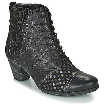 Topánky Ženy Čižmičky Remonte Dorndorf D8786-06 Čierna