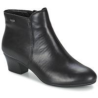 Topánky Ženy Čižmičky Clarks MELANIE SU GTX čierna