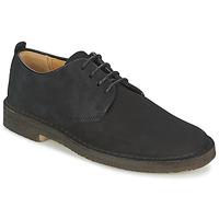 Topánky Muži Derbie Clarks DESERT LONDON Čierna