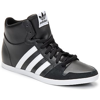 Topánky Muži Členkové tenisky adidas Originals ADILAGO MID Čierna / Biela