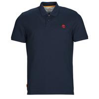 Oblečenie Muži Polokošele s krátkym rukávom Timberland SS MR Polo Slim DARK SAPPHIRE Námornícka modrá