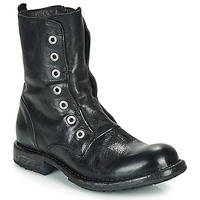 Topánky Ženy Polokozačky Moma CUSNA NERO Čierna