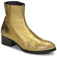 Topánky Ženy Čižmičky Moma NJ ORO Zlatá