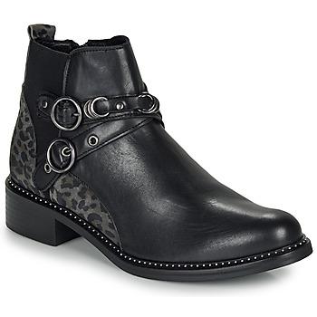 Topánky Ženy Polokozačky Regard ROABIL V2 METALCRIS Čierna