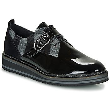 Topánky Ženy Derbie Regard ROCSI V3 VERNIS Čierna