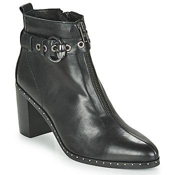 Topánky Ženy Čižmičky Philippe Morvan BAXEL3 V1 MAIA Čierna
