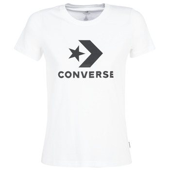 Oblečenie Ženy Tričká s krátkym rukávom Converse STAR CHEVRON Biela
