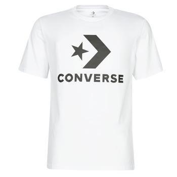 Oblečenie Muži Tričká s krátkym rukávom Converse STAR CHEVRON Biela