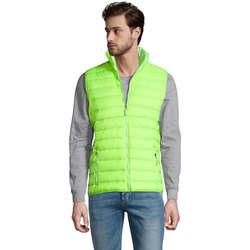 Oblečenie Muži Spoločenské vesty k oblekom Sols WAVE LIGHTWEIGHT MEN Verde