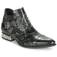 Topánky Muži Derbie New Rock BRAVA Čierna