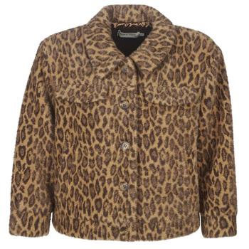 Oblečenie Ženy Bundy  See U Soon 9262153 Leopard