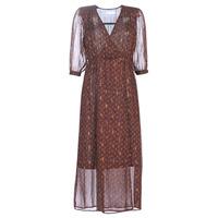 Oblečenie Ženy Dlhé šaty See U Soon 9221839 Čierna / Červená