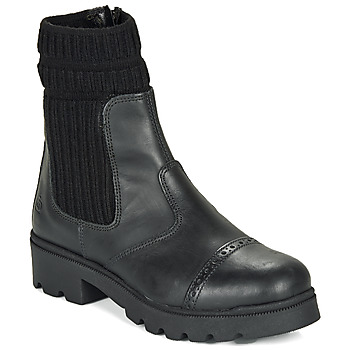 Topánky Dievčatá Polokozačky Citrouille et Compagnie LOBINOUTE Čierna
