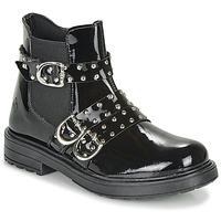 Topánky Dievčatá Polokozačky Citrouille et Compagnie LIRONDEL Čierna