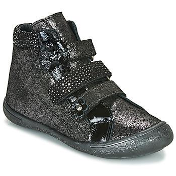 Topánky Dievčatá Členkové tenisky Citrouille et Compagnie HODIL Čierna