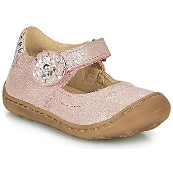 Topánky Dievčatá Balerínky a babies Citrouille et Compagnie LASKIMA Ružová