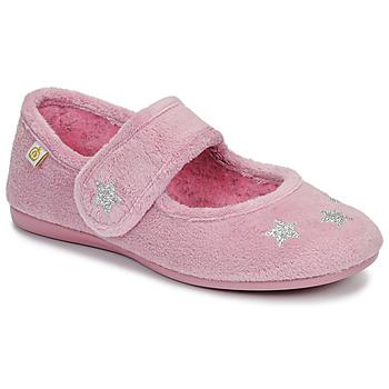 Topánky Dievčatá Papuče Citrouille et Compagnie LAFIFOU Ružová