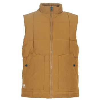 Oblečenie Muži Vyteplené bundy Oxbow L2JONBAY Ťavia hnedá