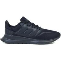Topánky Deti Bežecká a trailová obuv adidas Originals Runfalcon K Čierna