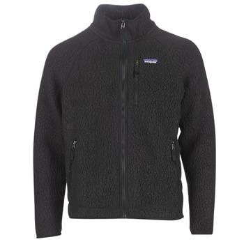 Oblečenie Muži Flísové mikiny Patagonia M'S RETRO PILE JKT Čierna