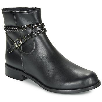 Topánky Ženy Polokozačky So Size OSCARDO Čierna