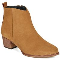 Topánky Ženy Čižmičky So Size MARTINO Ťavia hnedá